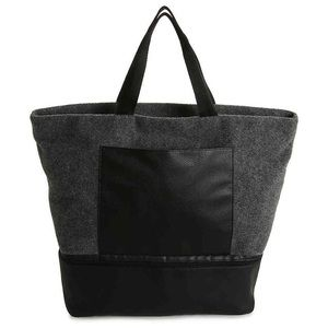 DSW - Gray Felt Tote Bag